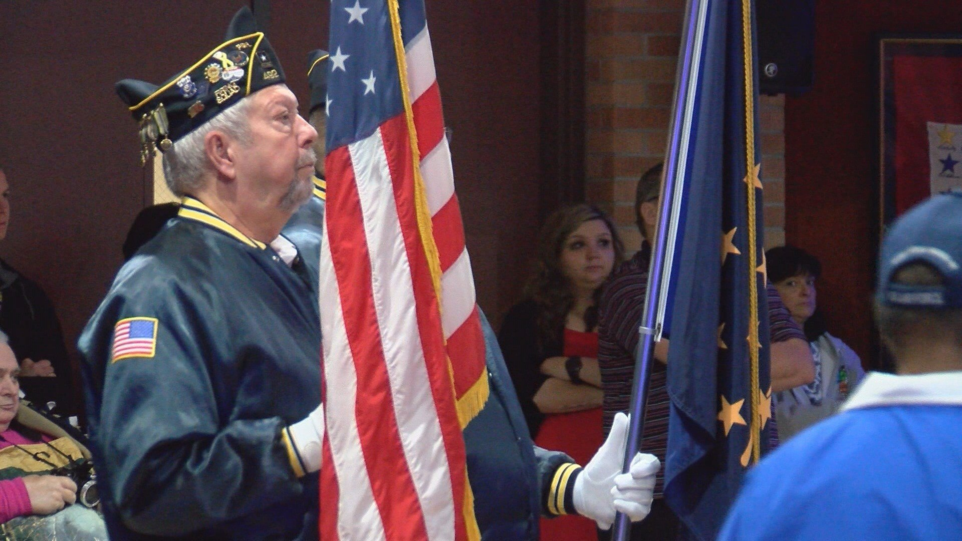Veterans' home honors those who have served