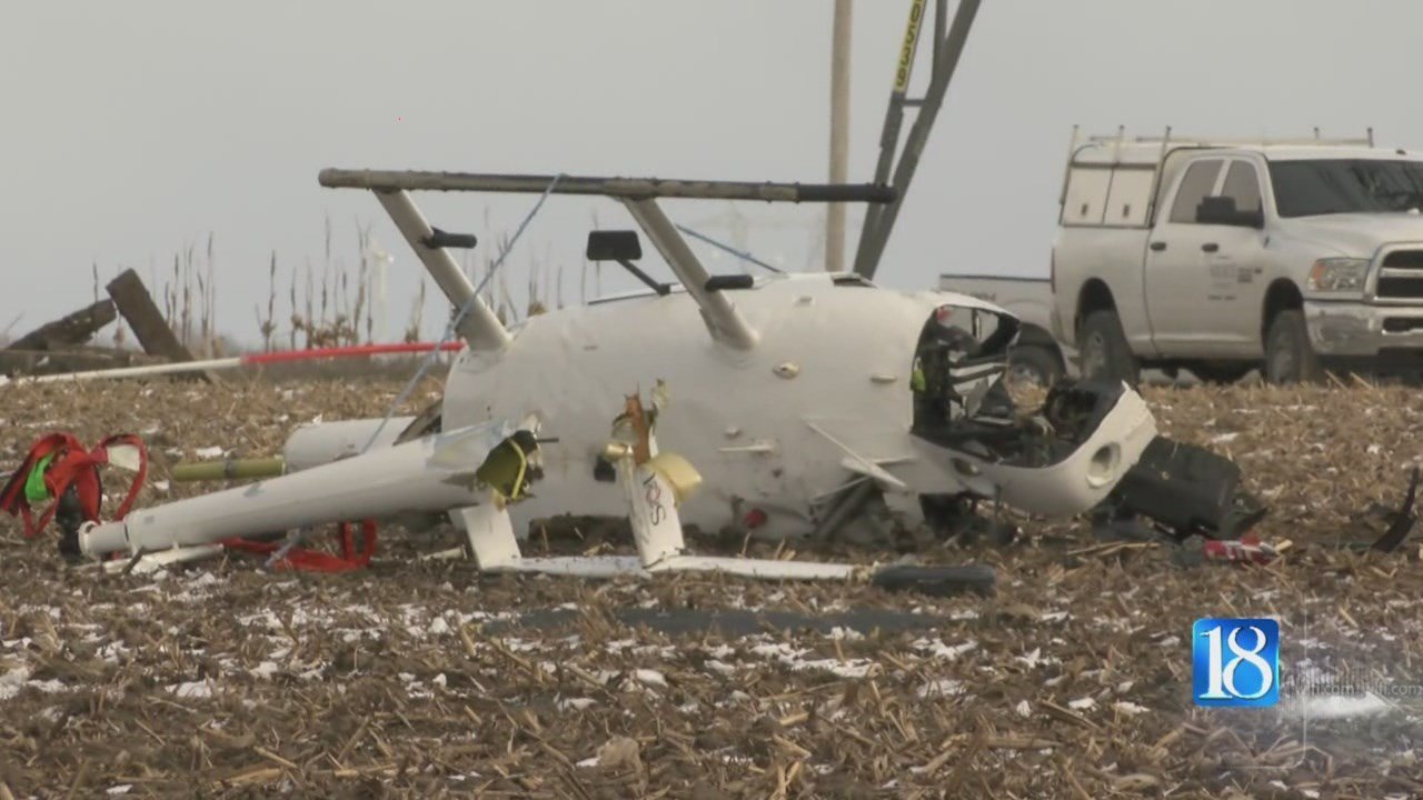 Indiana white county chalmers - A Helicopter Crashed In White County Just Southeast Of Chalmers Tuesday March 14